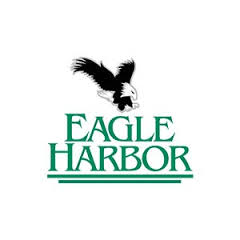 Logo of golf course named Eagle Harbor Golf Club