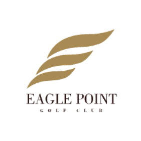 Logo of golf course named Eagle Point Golf Club
