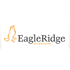 Logo of golf course named Eagle Ridge Resort and Spa