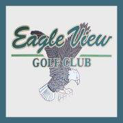 Logo of golf course named Eagle View Golf Club
