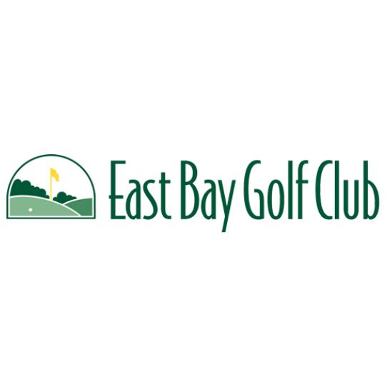 Logo of golf course named East Bay Golf Club