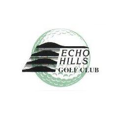 Logo of golf course named Echo Hills Golf Club