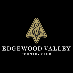 Logo of golf course named Edgewood Valley Country Club