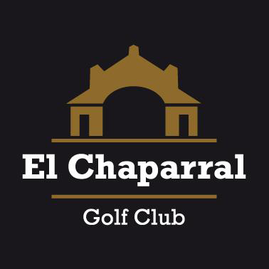 Logo of golf course named El Chaparral Golf Club