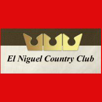 Logo of golf course named El Niguel Country Club