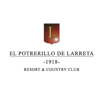 Logo of golf course named El Potrerillo de Larreta Resort and Country Club