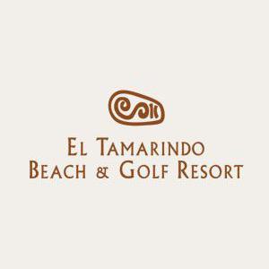 Logo of golf course named El Tamarindo Beach and Golf Resort