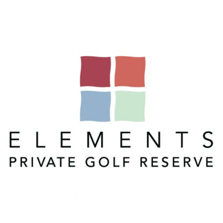 Logo of golf course named Elements Private Golf Reserve
