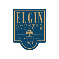 Logo of golf course named Elgin Country Club