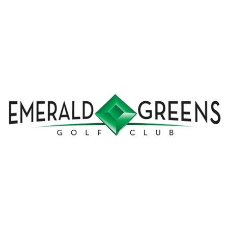 Logo of golf course named Emerald Greens Golf Club