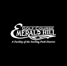 Logo of golf course named Emerald Hill