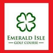 Logo of golf course named Emerald Isle Golf Course