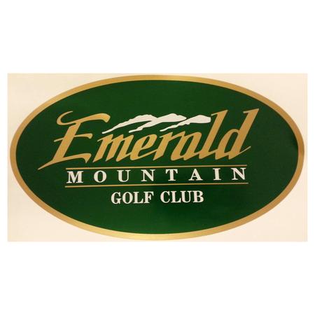 Logo of golf course named Emerald Mountain Golf Club