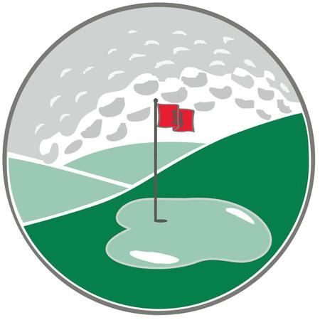Logo of golf course named Endwell Greens Golf Club