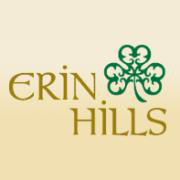 Logo of golf course named Erin Hills Golf Course