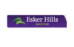 Logo of golf course named Esker Hills Golf Club