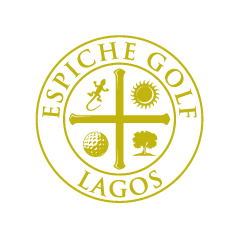 Logo of golf course named Espiche Golf
