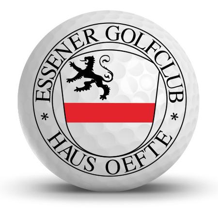 Logo of golf course named Essener Golf-Club Haus Oefte e.V., Essen-Kettwig