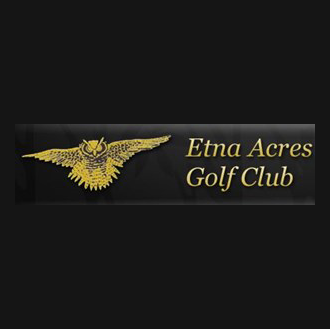 Logo of golf course named Etna Acres Golf Club