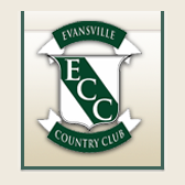 Logo of golf course named Evansville Country Club