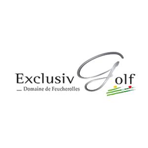Logo of golf course named Exclusiv Golf Domaine de Feucherolles
