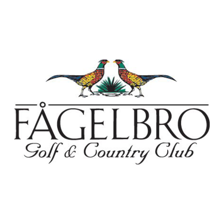 Logo of golf course named Fagelbro Golf and Country Club