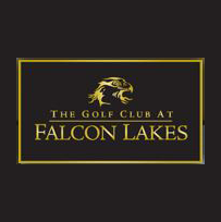 Logo of golf course named Falcon Lakes Golf Course