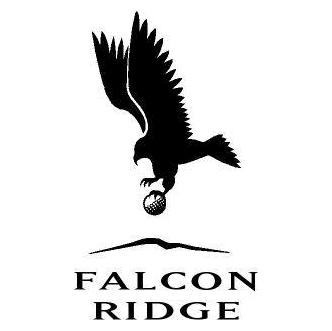 Logo of golf course named Falcon Ridge Golf Course