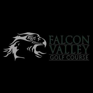 Logo of golf course named Falcon Valley Golf Course