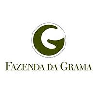 Logo of golf course named Fazenda Da Grama Country and Club