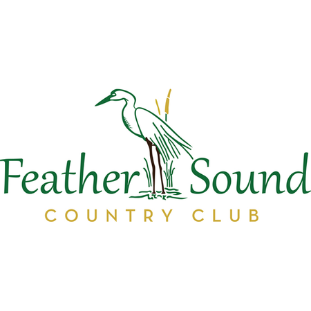 Logo of golf course named Feather Sound Country Club