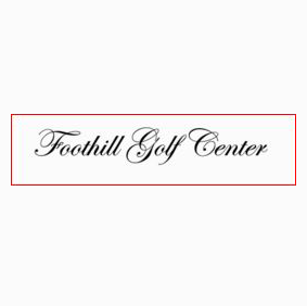 Logo of golf course named Foothill Golf Center