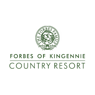 Logo of golf course named Forbes of Kingennie Country Resort