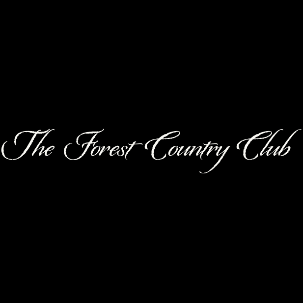 Logo of golf course named Forest Country Club, The
