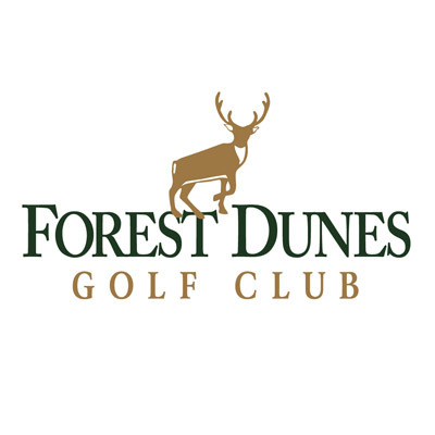 Logo of golf course named Forest Dunes Golf and Country Club