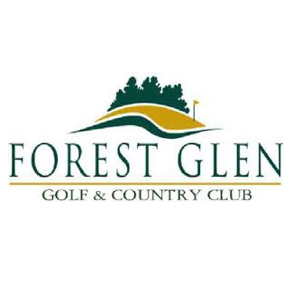Logo of golf course named Forest Glen Golf and Country Club