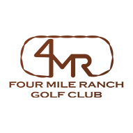Logo of golf course named Four Mile Ranch Golf Club