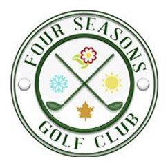 Logo of golf course named Four Seasons Golf Club