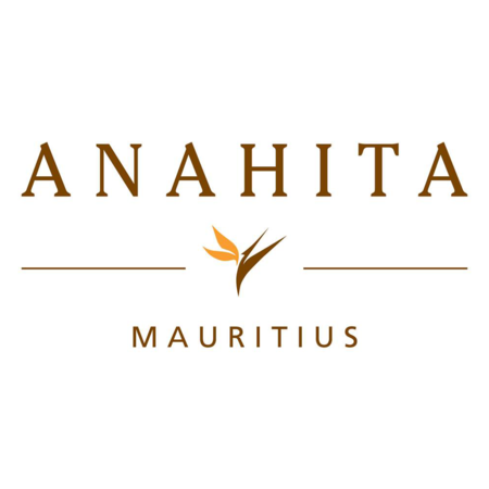 Logo of golf course named Four Seasons Golf Club Mauritius at Anahita