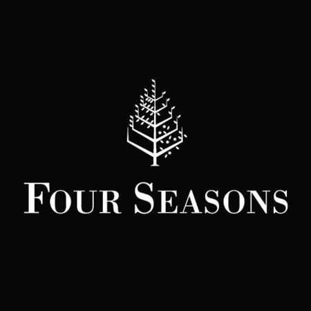 Logo of golf course named Four Seasons Resort Nevis
