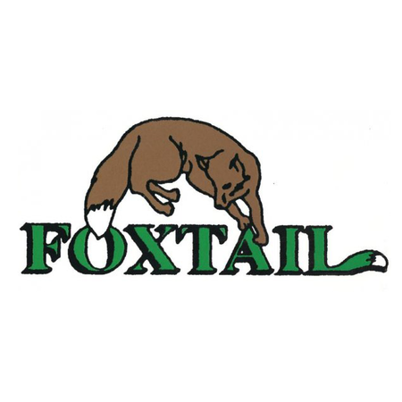 Logo of golf course named Foxtail Golf Course and Driving Range