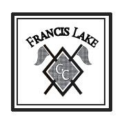 Logo of golf course named Francis Lake Golf Club
