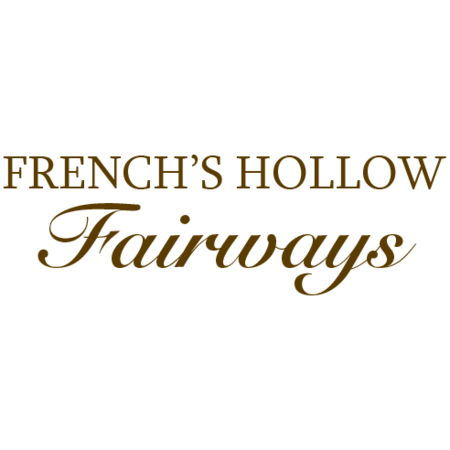 Logo of golf course named French's Hollow Fairways