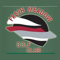 Logo of golf course named Fresh Meadow Golf Course