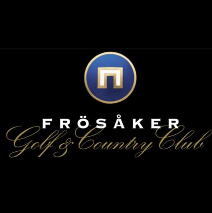 Logo of golf course named Frosaker Golfklubb