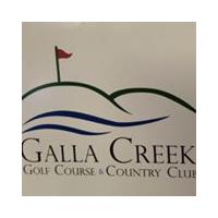 Logo of golf course named Galla Creek Golf Course