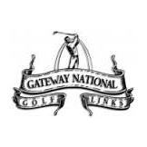 Logo of golf course named Gateway National Golf Links