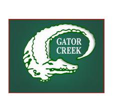 Logo of golf course named Gator Creek Golf Course