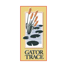 Logo of golf course named Gator Trace Golf and Country Club