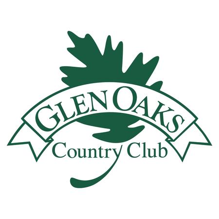 Logo of golf course named Glen Oaks Country Club
